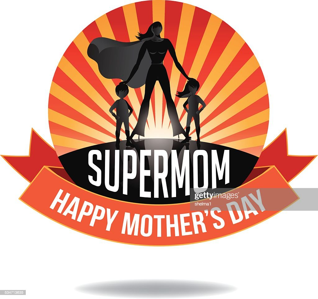 Happy Mothers Day Supermom icon