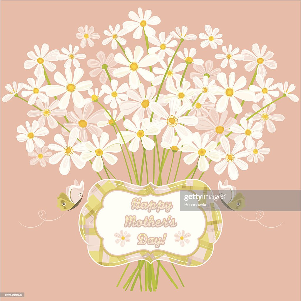 Happy Mother's Day! (Greeting Card) : stock illustration