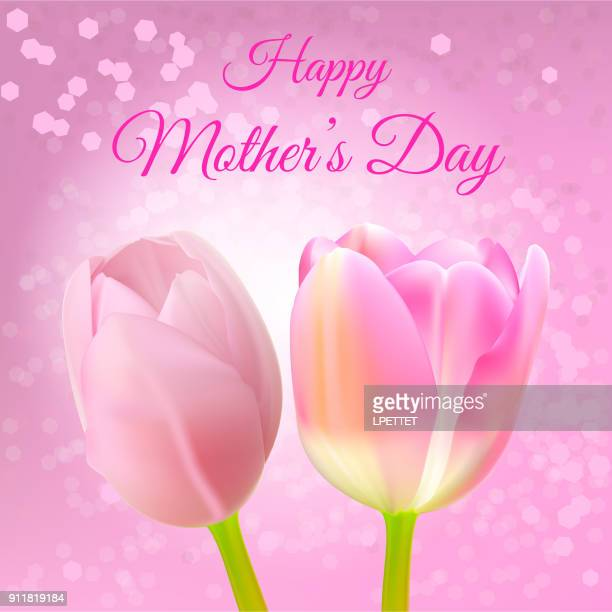 happy mother's day - mothers day text art stock illustrations