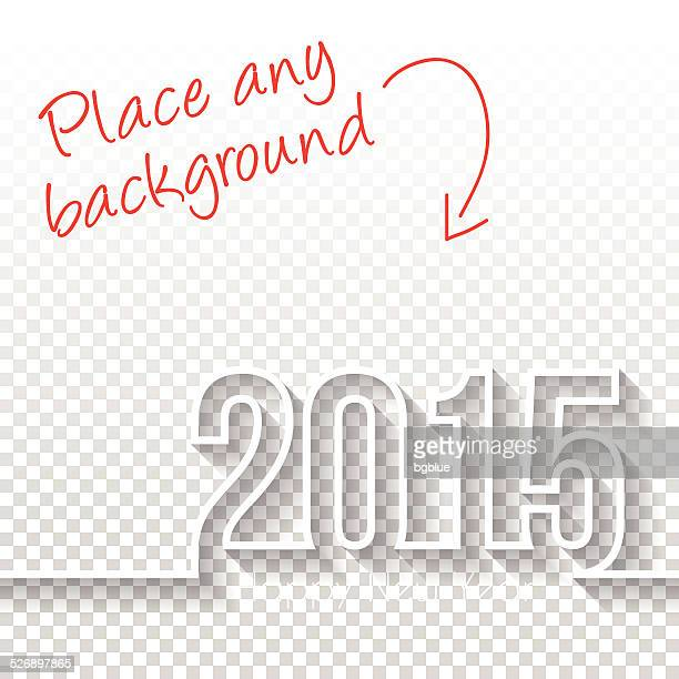 Frohes neues Jahr 2015 Design-Vorlage Backgroung
