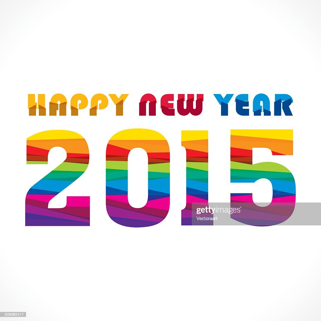 happy new year 2015 design