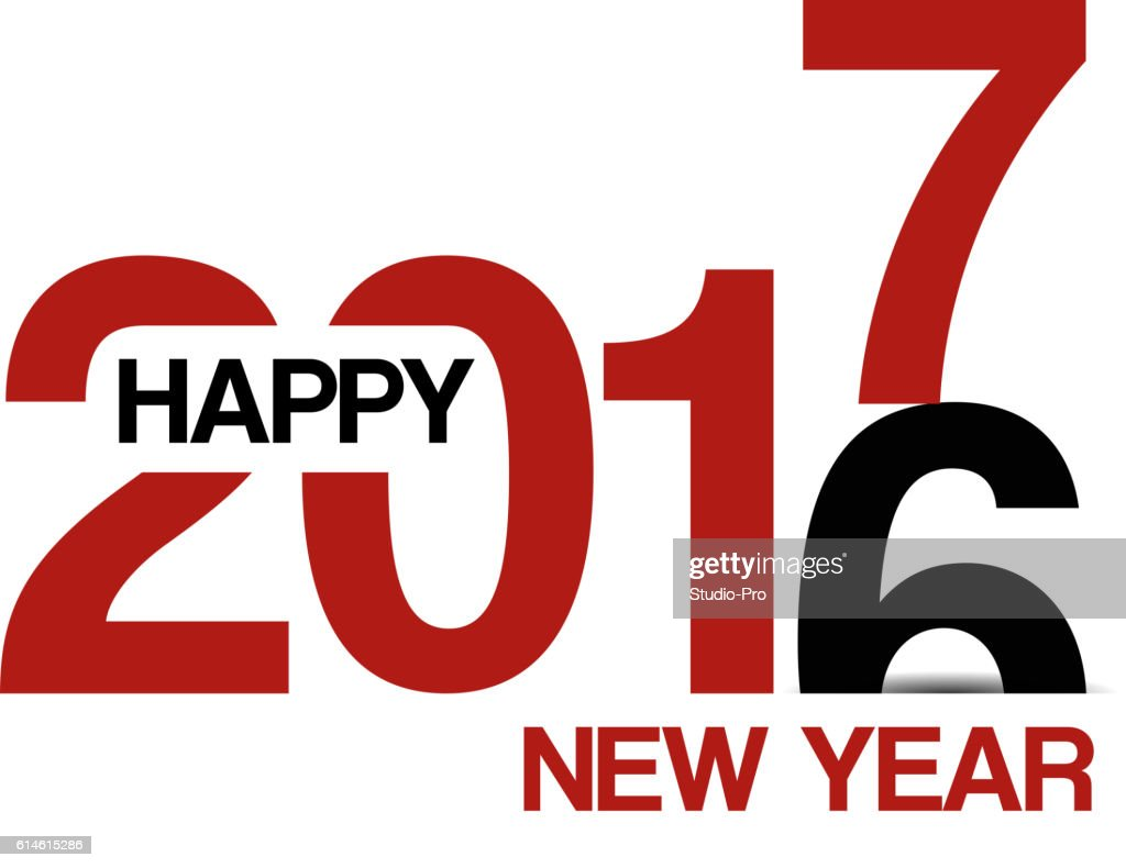 Happy new year 2017 background for your christmas vector art getty happy new year 2017 background for your christmas voltagebd Gallery