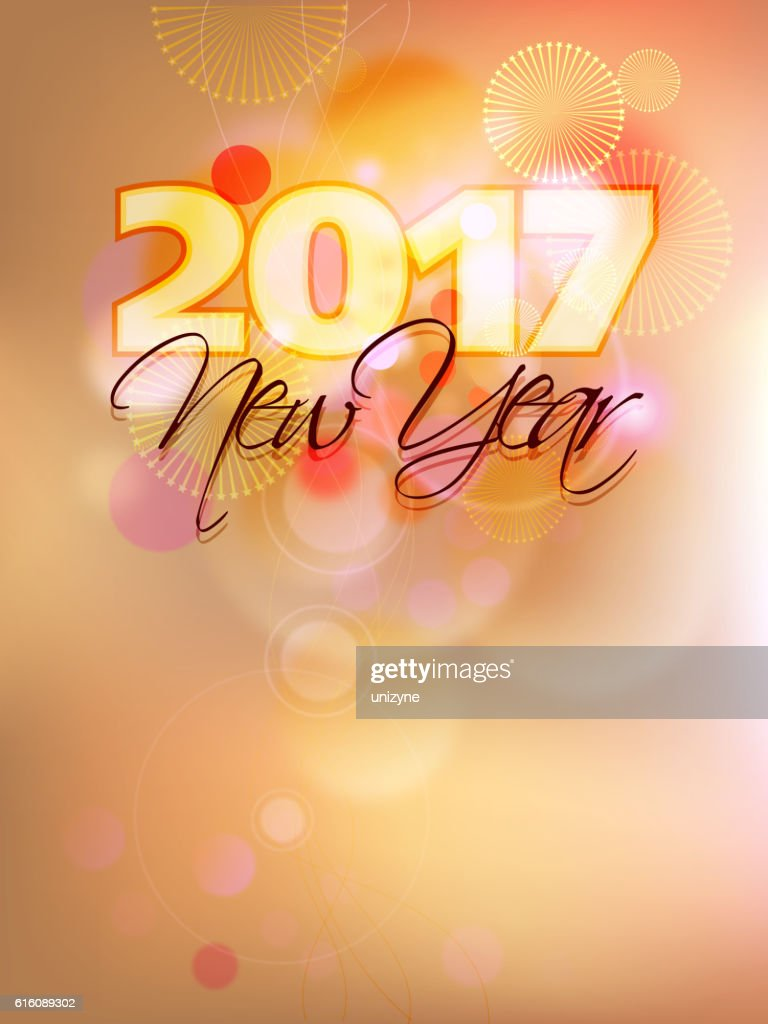 happy new year 2017 greetings ベクトルアート getty images