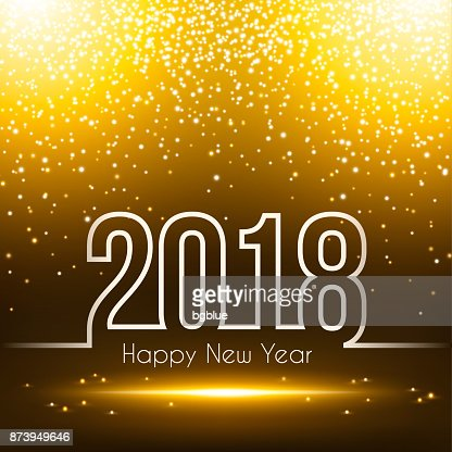 happy new year 2018 sparkly background vector art getty images
