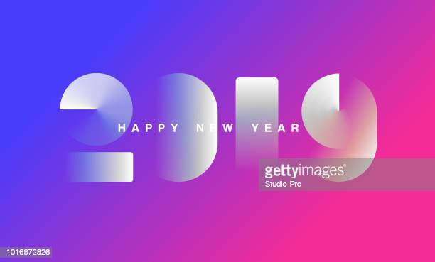 9 058 New Year Card High Res Illustrations Getty Images