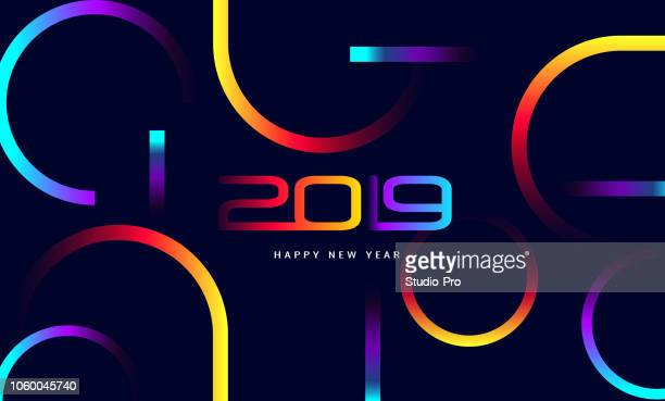 Happy New Year 2019 Background for your Christmas