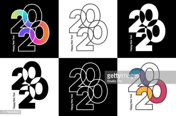 illustrazioni stock, clip art, cartoni animati e icone di tendenza di buon anno 2020 sfondo per il vostro natale - 2020