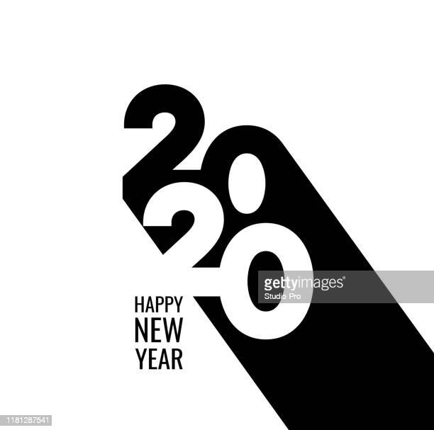 happy new year 2020 background for your christmas - new year's eve stock illustrations