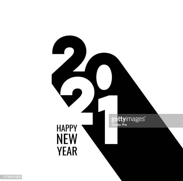 happy new year 2021 background for your christmas - 2021 stock illustrations