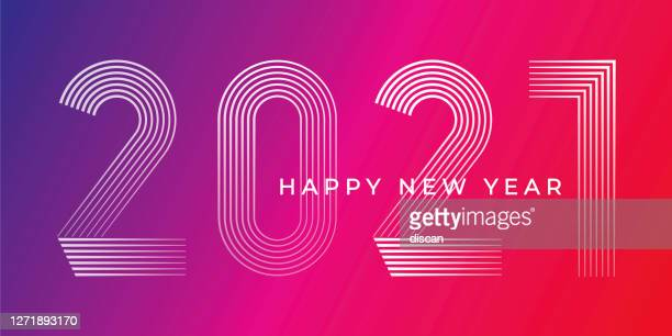 happy new year 2021 background. - 2021 stock illustrations