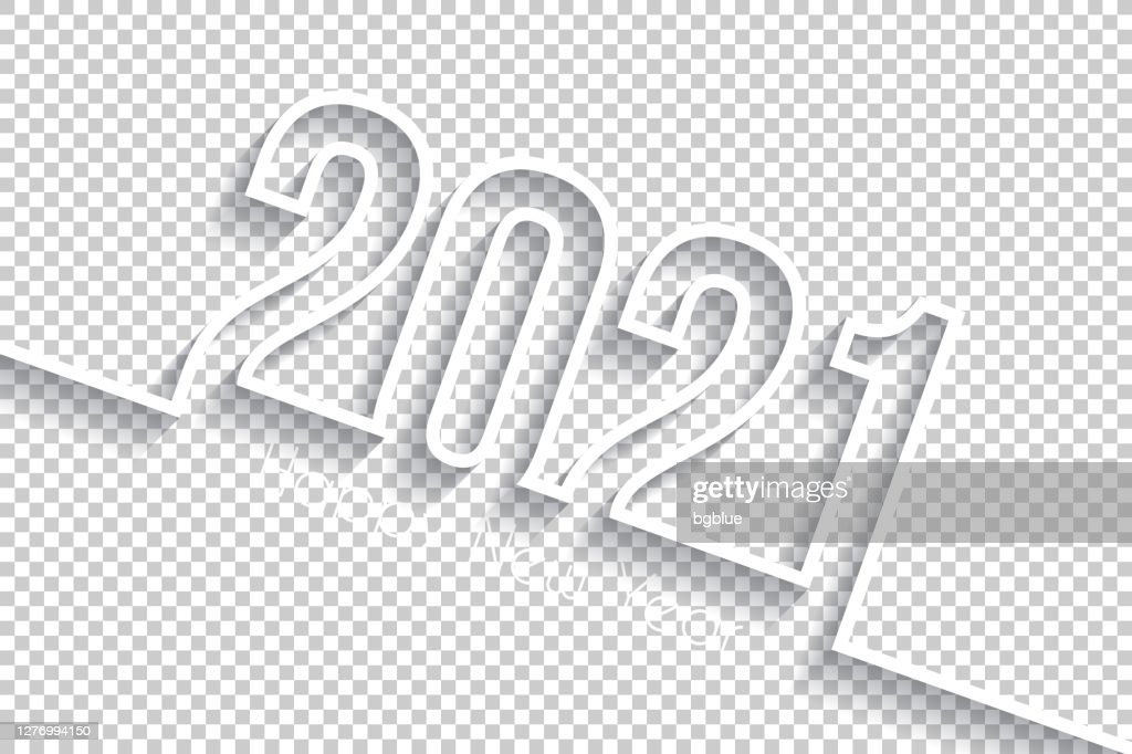 The Best Happy New Year 2021 Vector