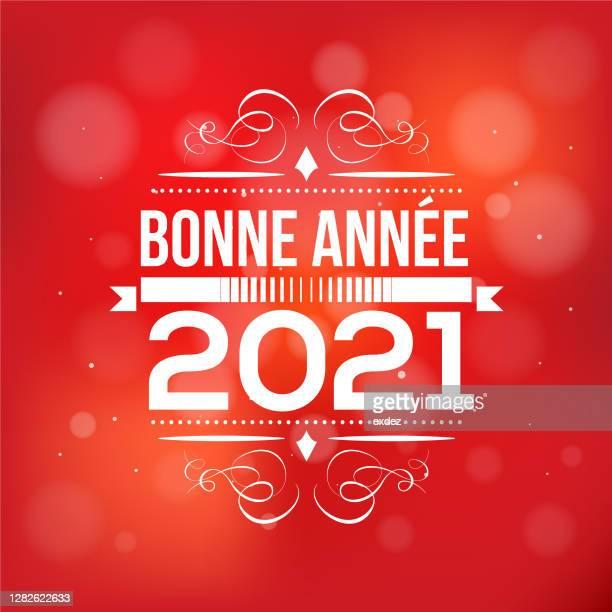 illustrations, cliparts, dessins animés et icônes de illustration de stock d'illustration vectorielle de bonne année 2021 - culture française