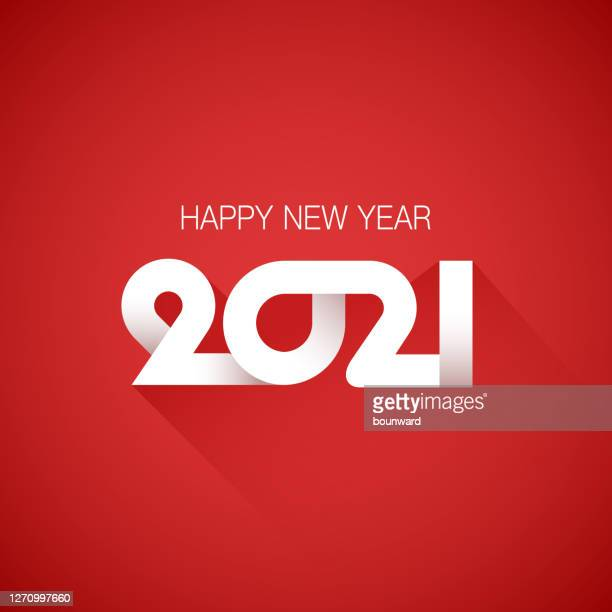 2021 happy new year background - 2021 stock illustrations