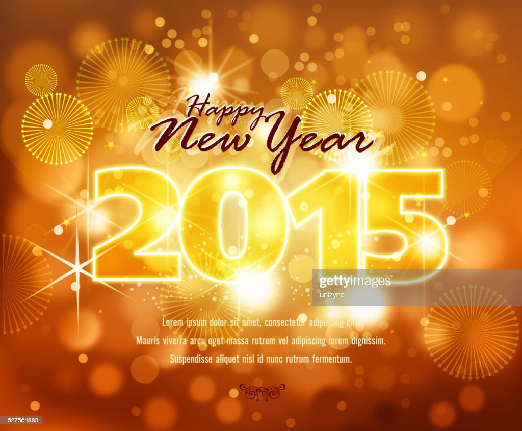 happy new year celebrations background vector art