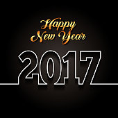 happy new year design