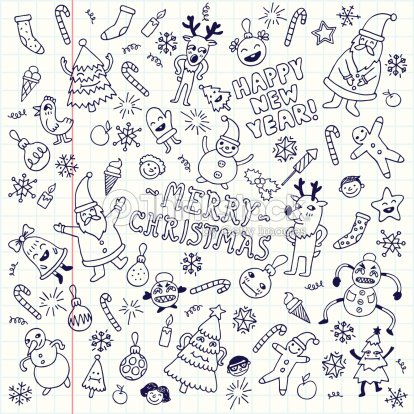 Happy New Year Doodle 58