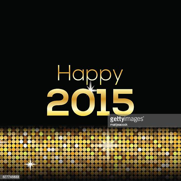 happy new year glitter 2015 background