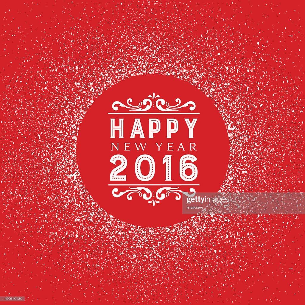 Happy New Year : stock illustration