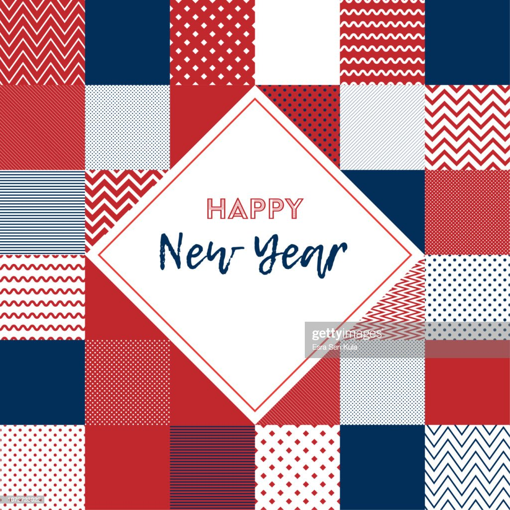 happy new year web banner vector art