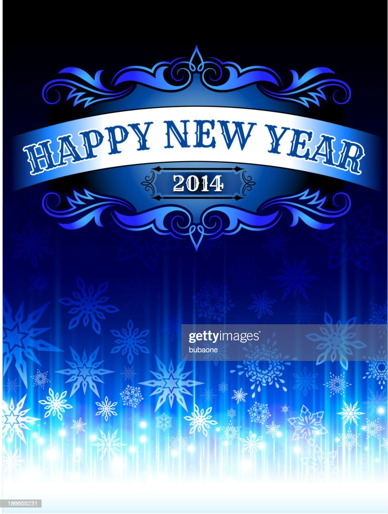 Happy new years 2014 holiday greeting cards vector art getty images happy new years 2014 holiday greeting cards vector art m4hsunfo
