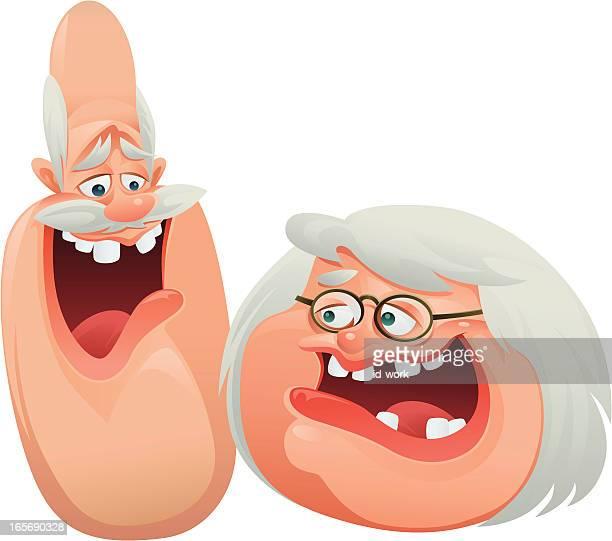 illustrations, cliparts, dessins animés et icônes de heureux couple - femme grosse