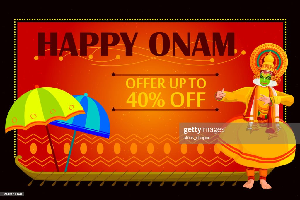 Happy Onam shopping sale offer