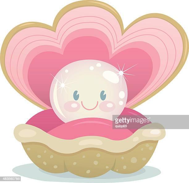Happy Pearl Character