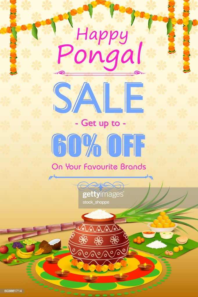 Happy Pongal celebration shopping offer
