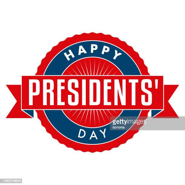happy presidents' day - president stock illustrations