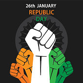 happy republic day of india banner