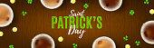 Happy Saint Patrick's Day Banner