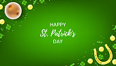 Happy Saint Patrick's Day Web Banner