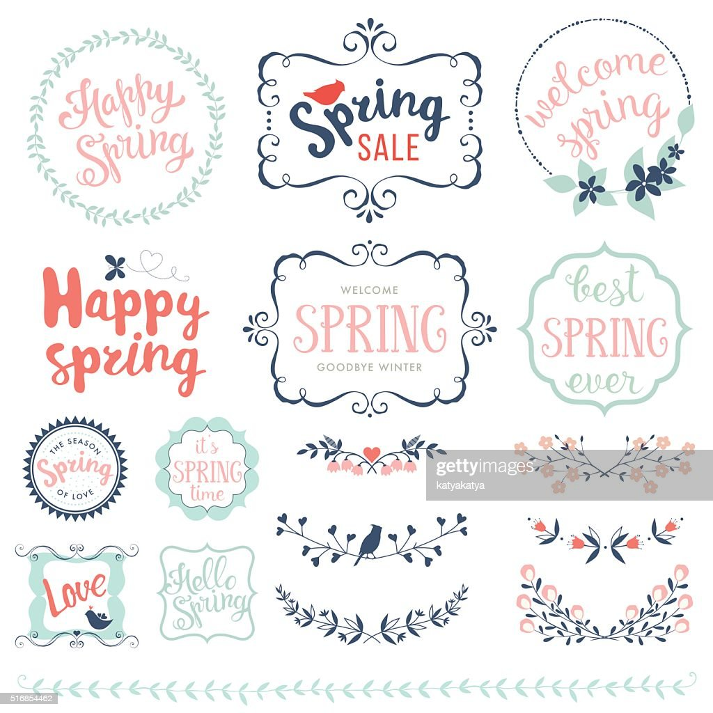 Happy Spring Set
