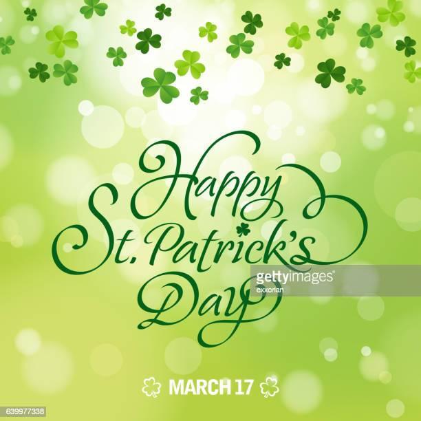 happy st. patrick's day celebration - parade stock illustrations, clip art, cartoons, & icons