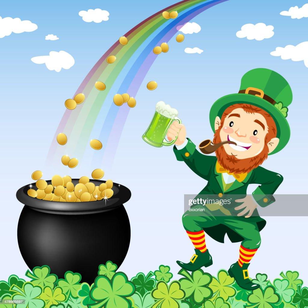 Happy St. Patrick's Day : stock illustration