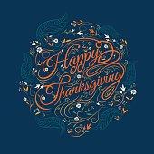 Happy  Thanksgiving, autumn