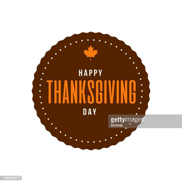 happy thanksgiving - canadian thanksgiving stock illustrations