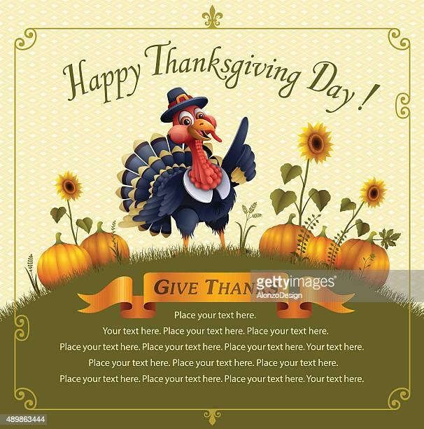 happy thanksgiving - gliedmaßen körperteile stock-grafiken, -clipart, -cartoons und -symbole
