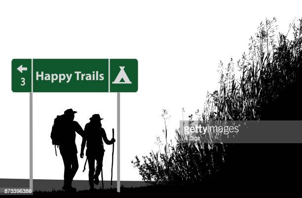 Happy Trails Backpacking couple