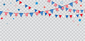 Happy USA Independence Day 4 th July. American holiday celebration