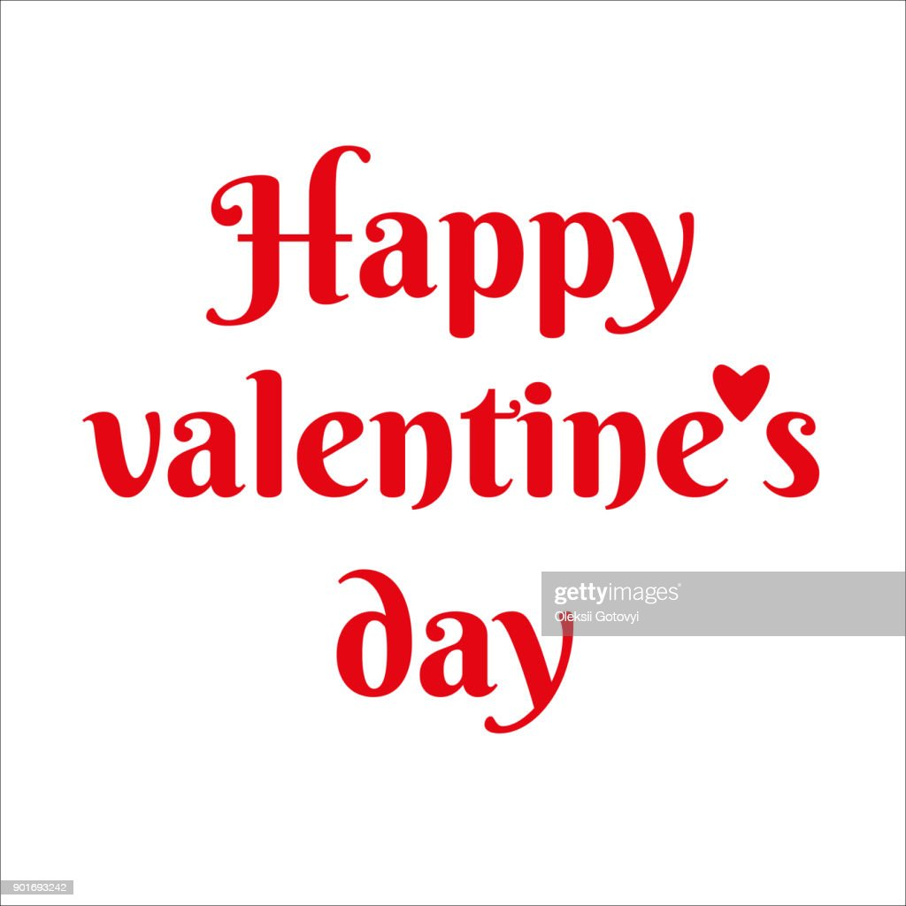 Happy Valentine Day Text For Greeting Card Invitation Letter And
