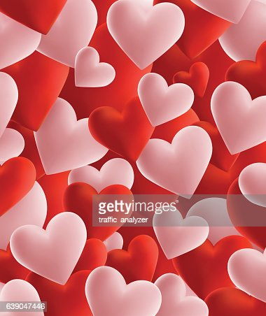 Happy Valentines Day Background Vector Art | Getty Images