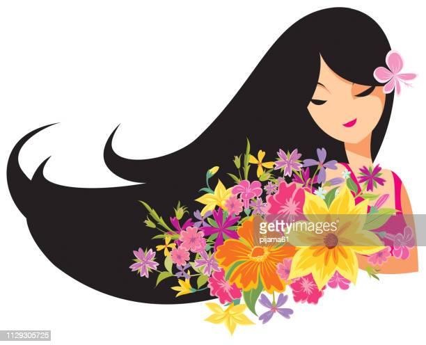 ilustrações de stock, clip art, desenhos animados e ícones de happy women's day cartoon illustration. - dia internacional da mulher