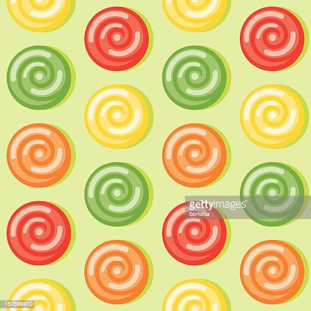 ハードキャンディーシームレスなパターン