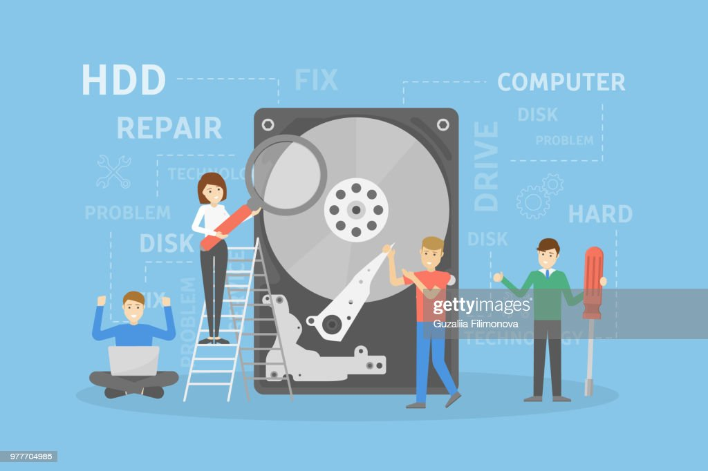 Hard disc repair.