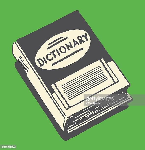 hardcover 辞書 - 辞書点のイラスト素材/クリップアート素材/マンガ素材/アイコン素材