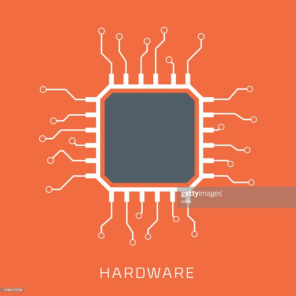 Hardware, flat style, colorful, vector icon