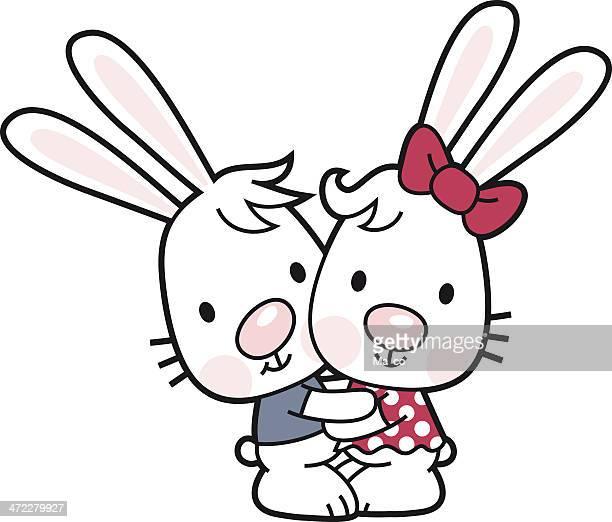 野ウサギ触れ合い