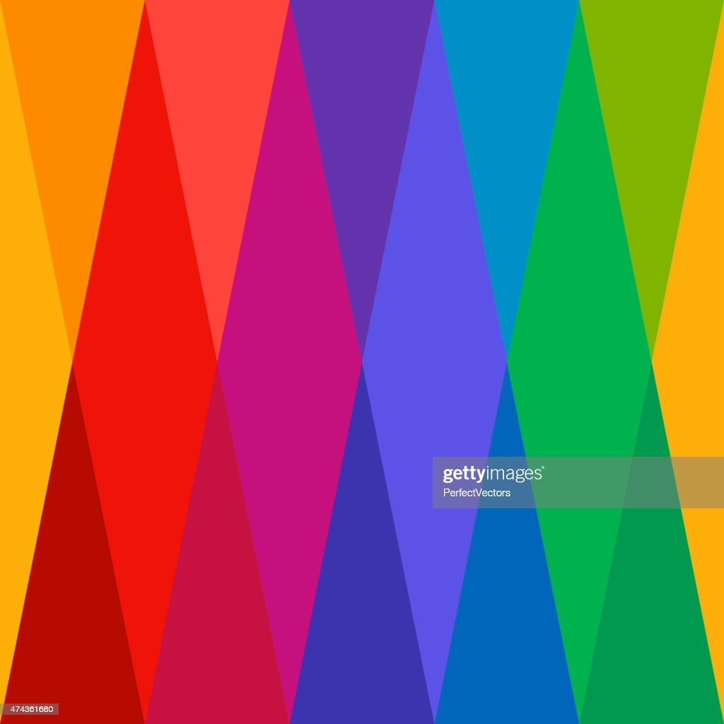 Harlequin Colorful Seamless Pattern