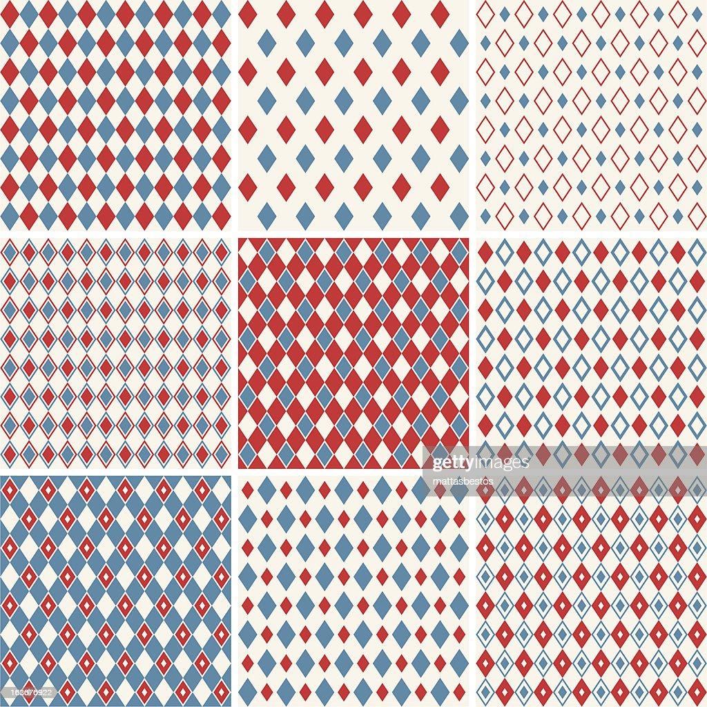 harlequin patterns